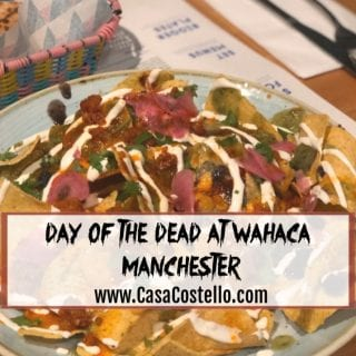 Day of the Dead menu at Wahaca Manchester